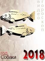 видео гороскоп на 2018 год Рыбы