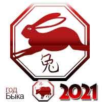 гороскоп на 2021 год Кролик