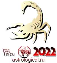 гороскоп на 2022 год Скорпион