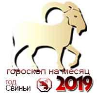 гороскоп на январь 2019 Козерог